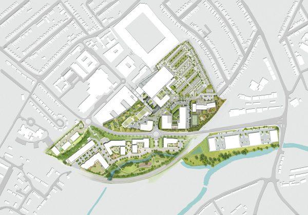 Major regeneration masterplan in Watford