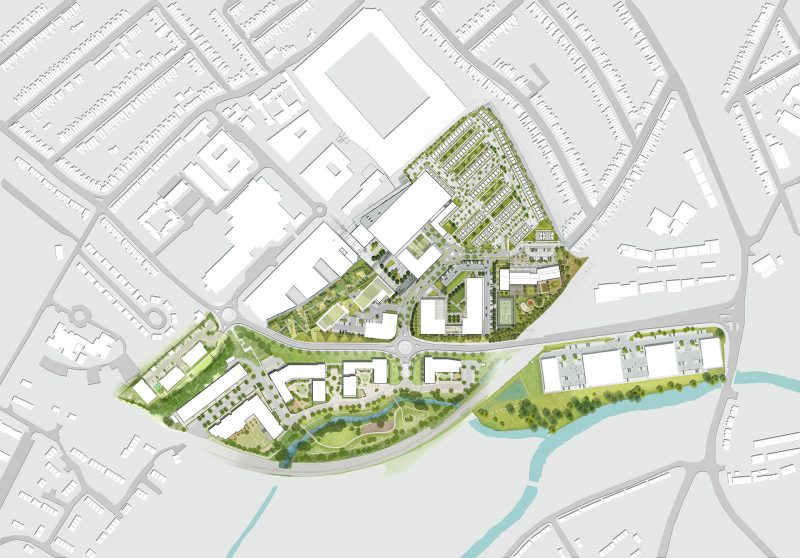 Major regeneration masterplan in Watford