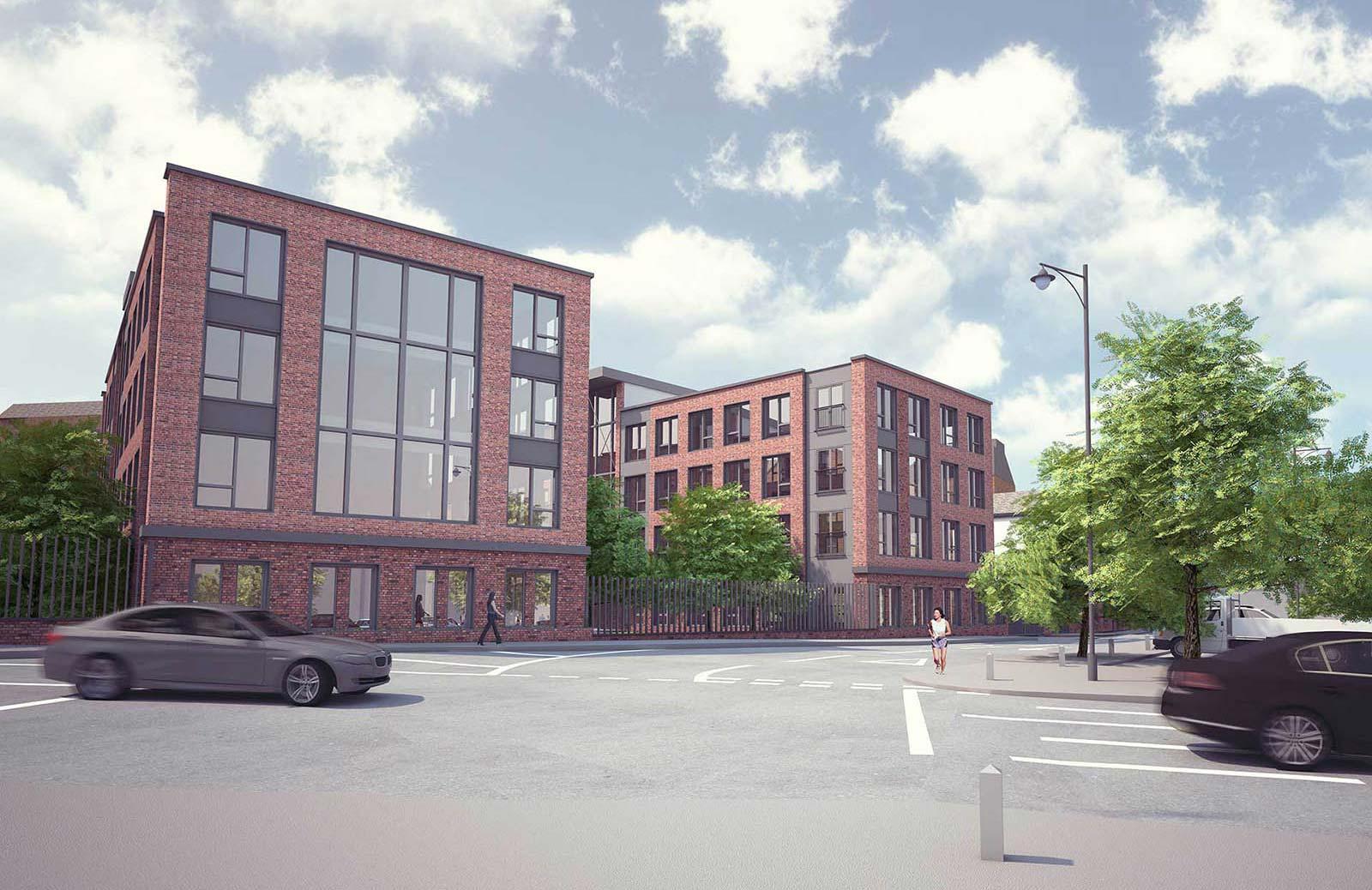 SHREWSBURY STUDENT HOUSING by POD Architects