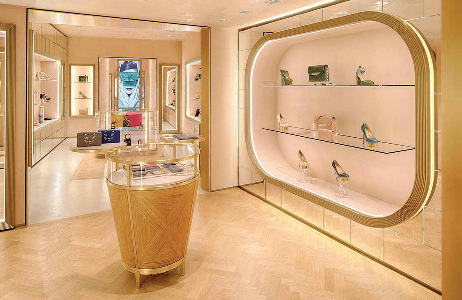 Charlotte Olympia London SW3 shop interior