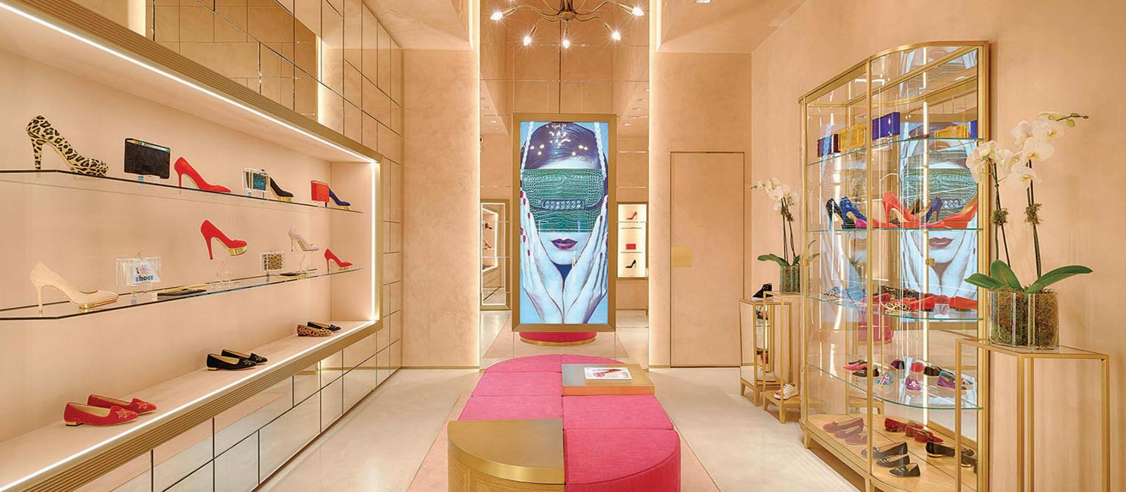 Charlotte Olympia London SW3 retail architects
