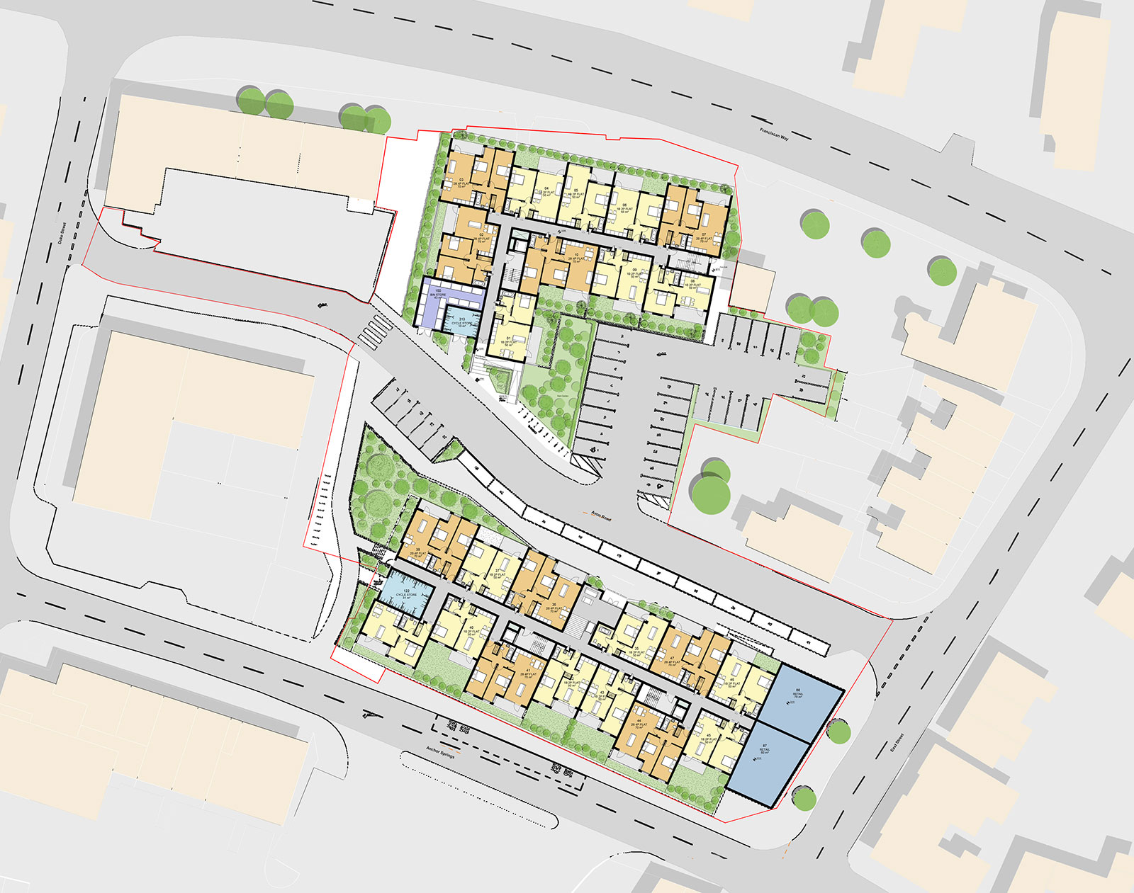 Residential Scheme Littlehampton ARTISTS impression