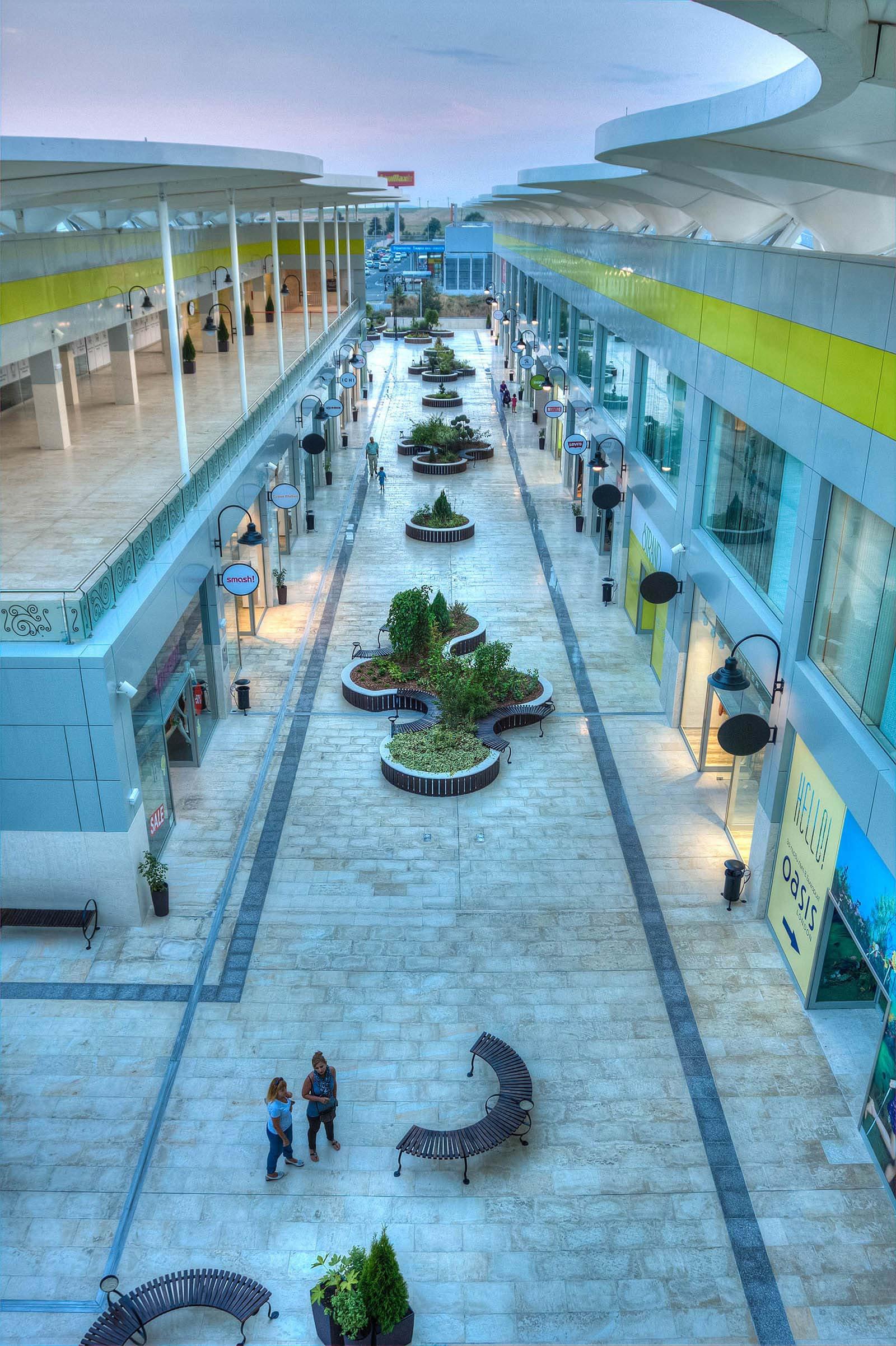 Open Air Retail Mall black sea coast bulgaria