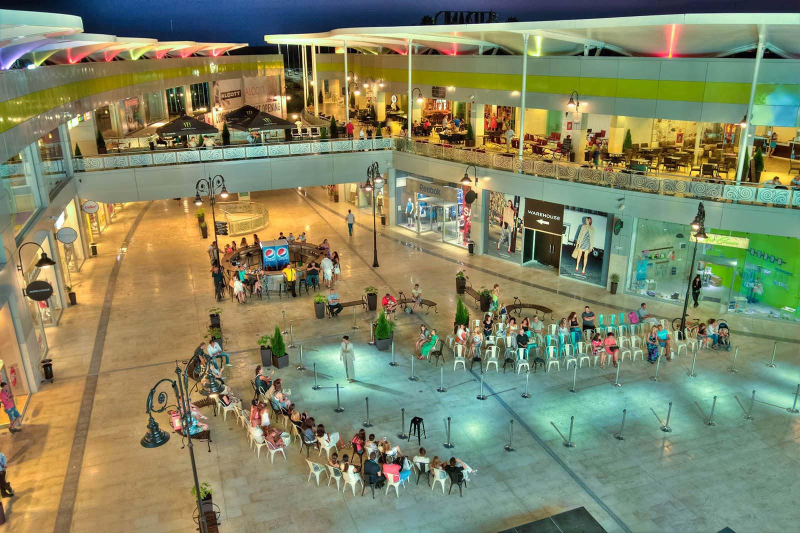 Open Air Retail Mall Bulgaria