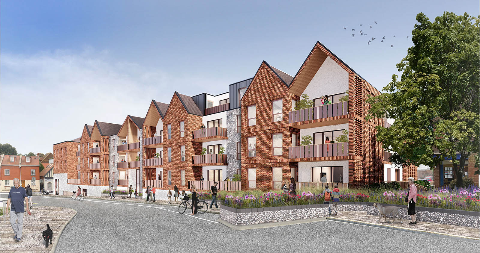 Residential Scheme Littlehampton by POD