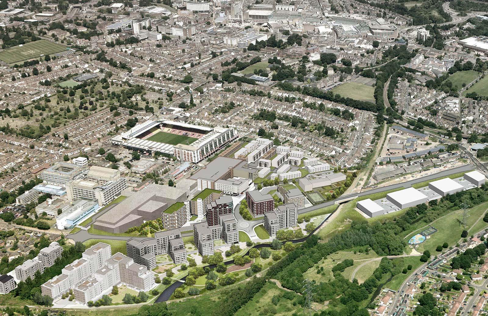 watford hospital architects
