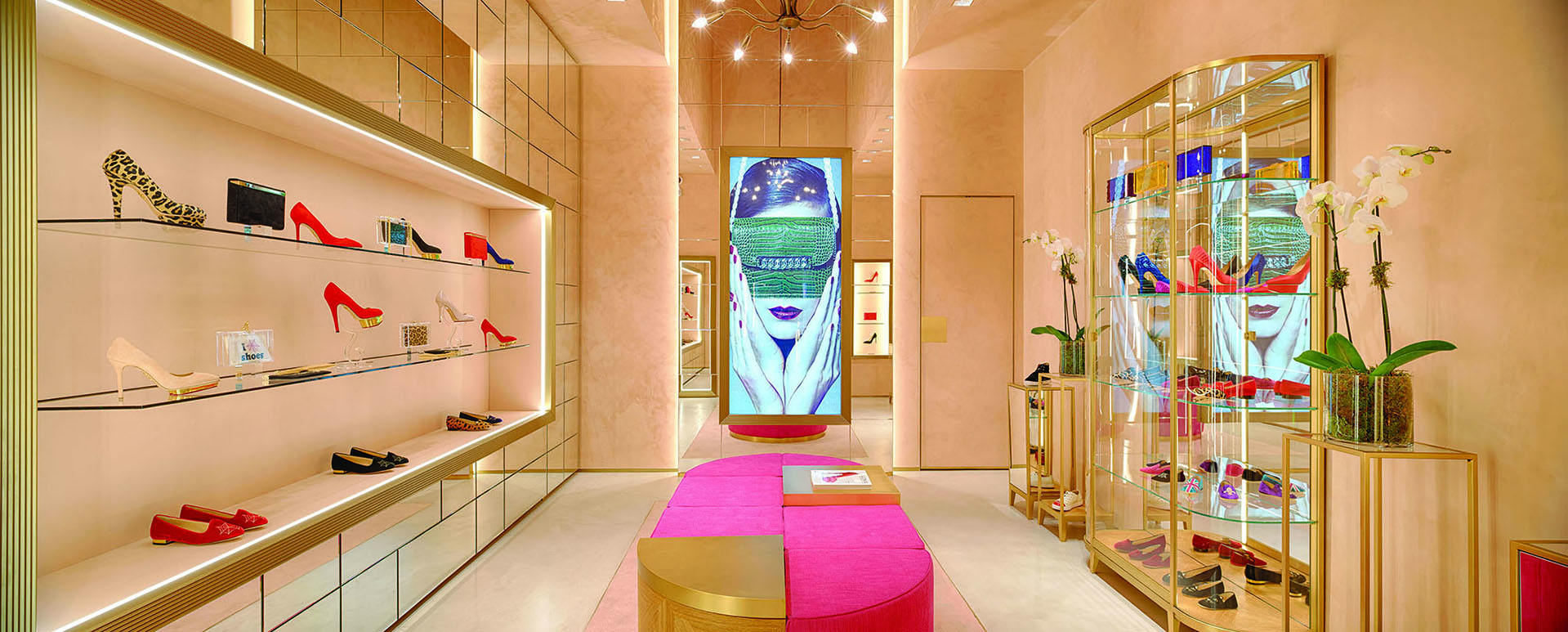 CHARLOTTE OLYMPIA retail units