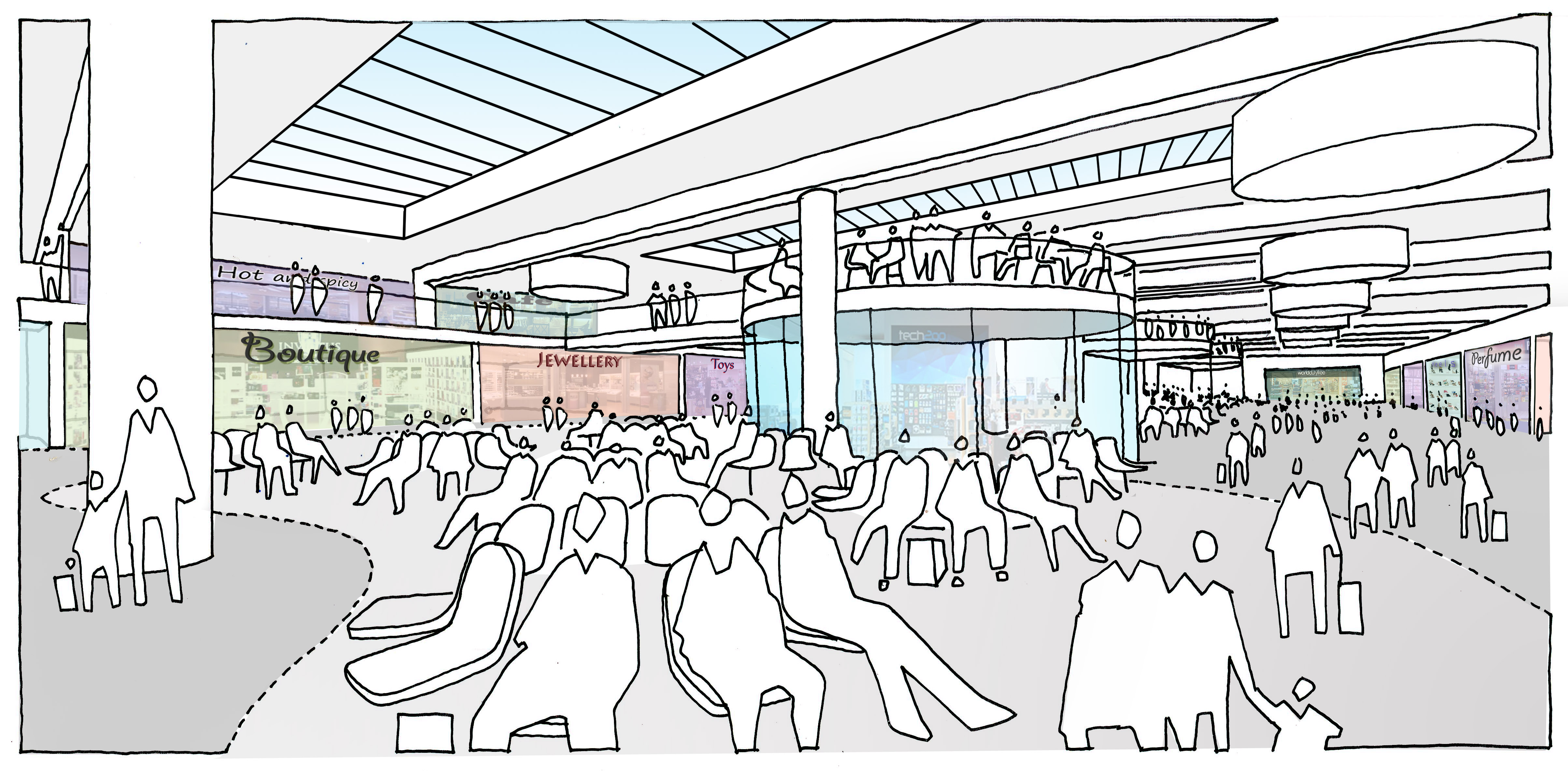 gatwick north airport architect drawings