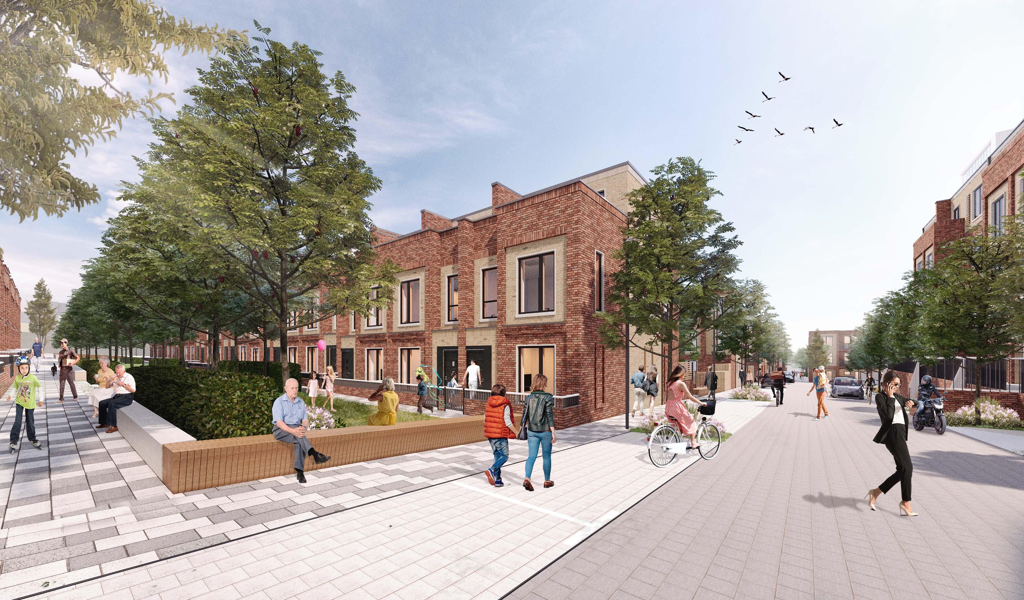 innovative family housing development hertfordshire