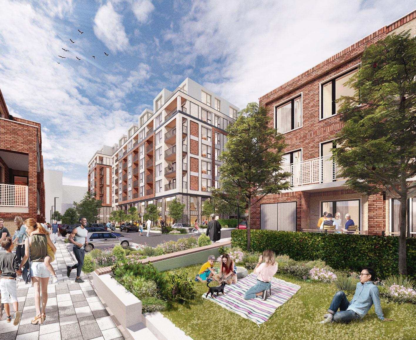 innovative family housing watford